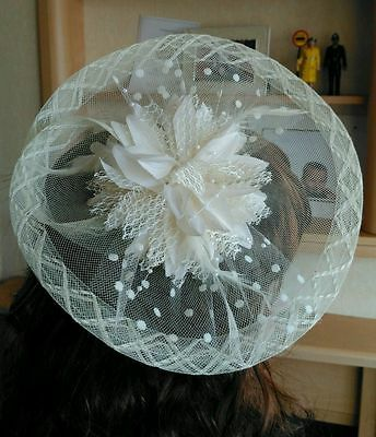 Ivory Fascinator / Wedding / Races / Mother Of The Bride / Special Occasion