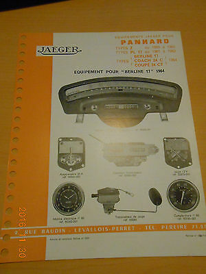 documentation  JAEGER PANHARD Z + PL