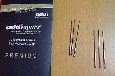 Addi Quick Felting Needles Turbo Hobby Original Addiquick