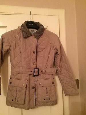 Girls Next Barbour Style Jacket