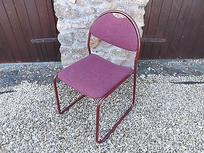 24 stacking chairs - office / restaurant / commercial