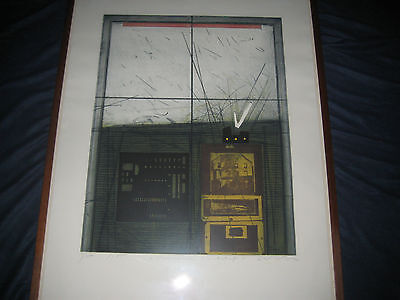 Karl Fred Dahmen - Original Limited Edition Signed Modern Abstract