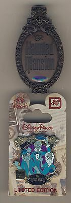 Disney POKITPAl HAUNTED MANSION SIGN Hitch Hiking Ghost Olszewski & Ghost Pin