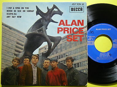 ALAN PRICE SET: I put a spell on you + 3 - FRENCH E.P.