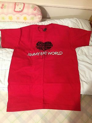Jimmy Eat World Concert T Shirt size SMALL