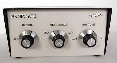 Receive SPC Antenna Tuning Unit. For all antenna types. Made in Dorset, UK.
