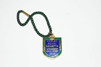 HENLEY ROYAL REGATTA STEWARDS BADGE 2010 No 3267