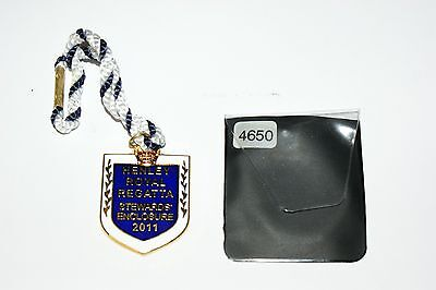 HENLEY ROYAL REGATTA STEWARDS BADGE 2011 No 4650