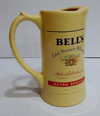 Bell's Bells Finest Scotch Whisky Ceramic Jug Pitcher Old Extra Special