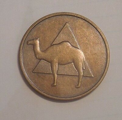 Aa Alcoholics Anonymous Camel Chip Coin Medallion New