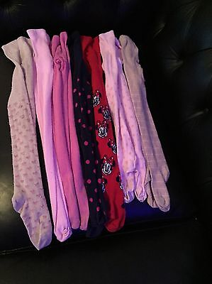 Girls Mixed Bundle Of Tights 3-4