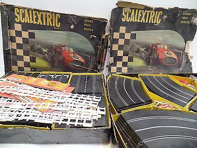Tri-Ang Scalextric Model GPI Motor Racing Grand Prix Slot Car England Vtg Lot