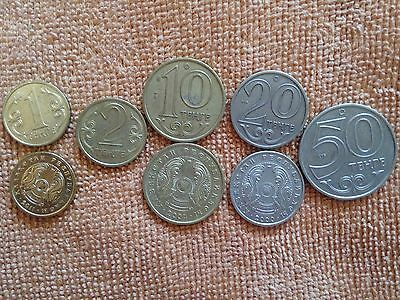 world coins from Kyrgyzstan x8