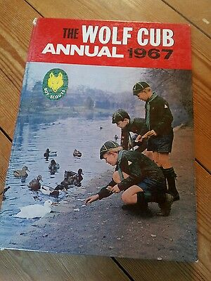 THE WOLF CUB ANNUAL. 1967 official scouts annual.