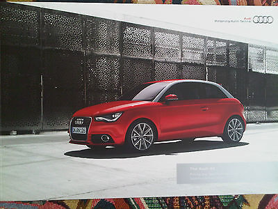 Audi A1 Pricing & Specification Guide Brochure 2010