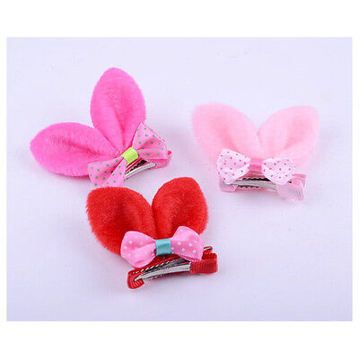 Children Girls Rabbit Ear Bowknot Hairband Hair Accessories