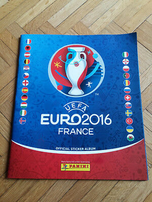 set complet panini EURO 2016