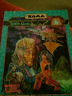 TORG Space Gods roleplay sourcebook (note condition)