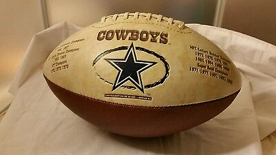1999 Dallas Cowboys Commemorative Super Bowl Limited Edition Football Series Mll
