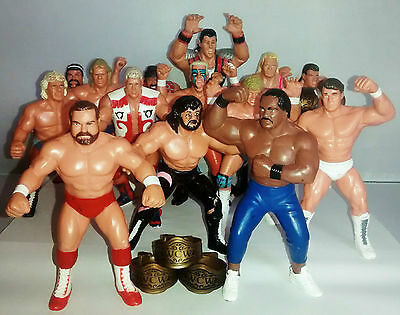 WCW Figures by Galoob