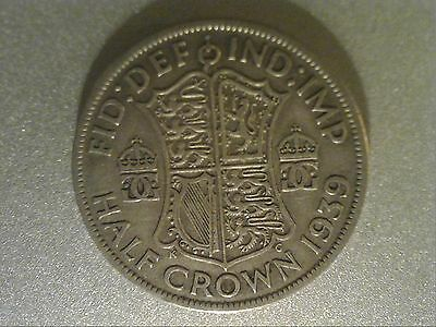 George VI Half Crown coins 1937 -1951 - 50% silver up to 1947