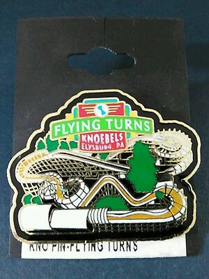 Knoebels Flying Turns Collectible Pin