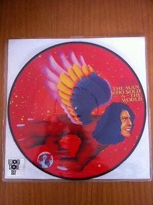 "David Bowie The Man Who Sold The World  12"" Picture Disc -  RSD 2016 Sealed"