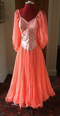 Ladies Theatrical Ballroom/strictly Come Dancing Stage Dress