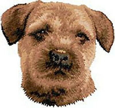 Border Terrier Portrait Embroidery Patch (fixed price)