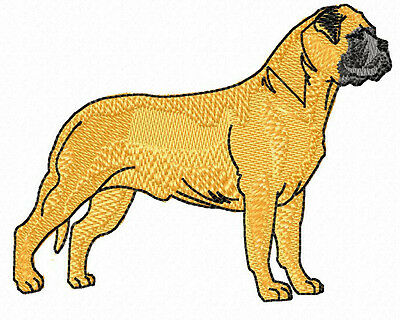 Bullmastiff (a)  Embroidery Patch