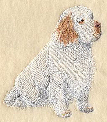 Clumber Spaniel full body Embroidery Patch Fixed Listing
