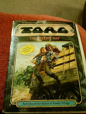 TORG THE DESTINY MAP Roleplay West End Games (note condition)