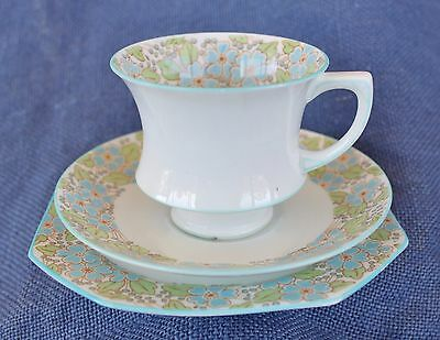Paragon porcelain cup, saucer and side plate.
