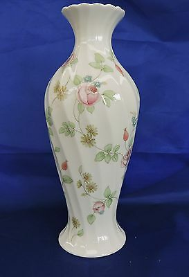"Wedgwood Bone China ""Rosehip"" Vase Number 53"