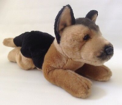 Russ Yomiko Classics GERMAN SHEPHERD Plush Stuffed Animal Dog Long Lifelike