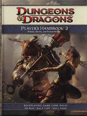 dungeons and dragons players handbook 3