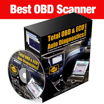 2016 Car Truck Auto Diagnostic Obd Scanner Software Best Tool In World ~
