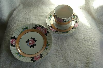 Noritake, Made In Japan, Tea Cup, Saucer And Side Plate