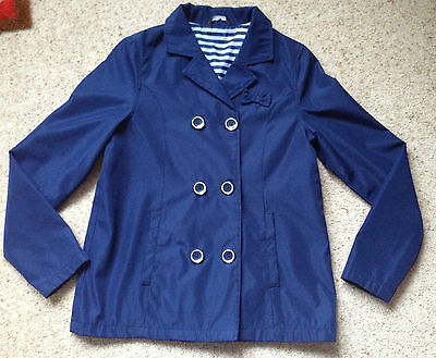 Girls 3/4 Coat From George Age 12-13 Years  Hardly Worn