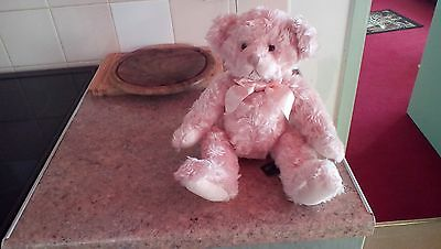 Russ Isabella Pink Teddy Bear  Beautiful! Excellent Condition