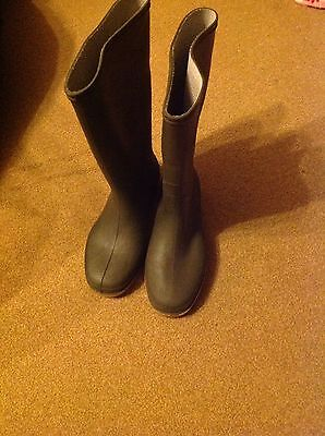 Wellington Boots, Green Size3