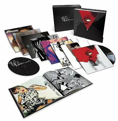Rihanna - Box Set - Sealed 15 Disc 180g Vinyl LP + Download Anti Rated R Loud