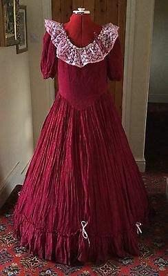 Victorian Style Theatrical Evening Dress Stage Costume