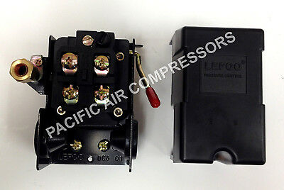 Furnas  Replacement Pressure Switch. Four Port. 95-125 Psi