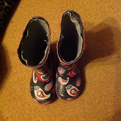 Kid's / Toddlers Hatley Wellies,  Size Uk8