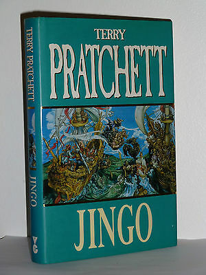 Jingo By Terry Pratchett, Signed 1St/1St Edition In Excellent Condition