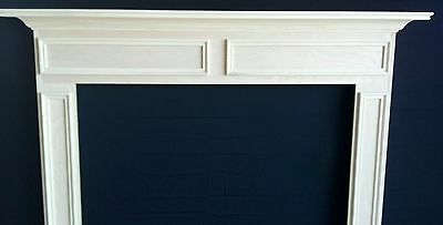 WOOD-Fireplace -Mantel Surround P/G QUICK SHIP wide x 42 height inside