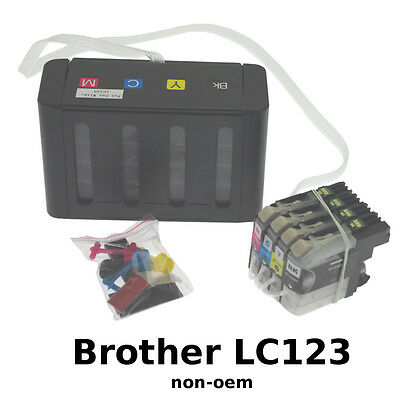 CISS Brother LC123 Encre Continue non-oem VIDE