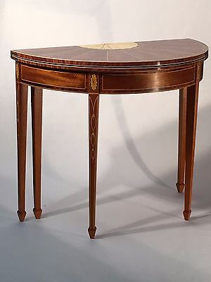Reproduction Federal period NY Card Table, c. 1790