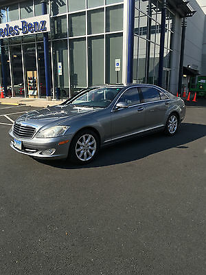 2007 Mercedes-Benz 500-Series Silver 2007 MERCEDES BENZ s550,118000 MILES,CLEAR TITLE